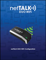 How to setup nettalk DUO WiFi